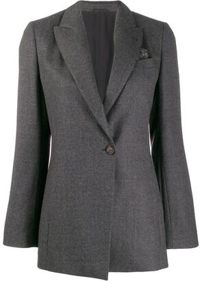 Brunello Cucinelli longline tailored blazer