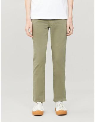 HUGO BOSS Slim-fit stretch-cotton chinos