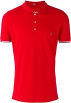Fay embroidered logo polo shirt - men - Cotton/Spandex/Elastane - M