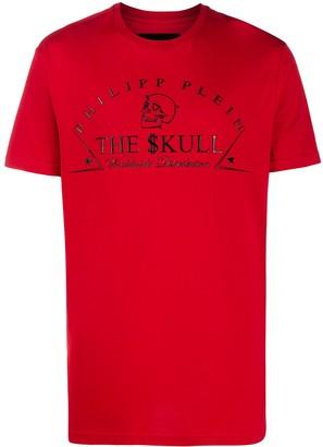 Philipp Plein logo-print crew neck T-Shirt