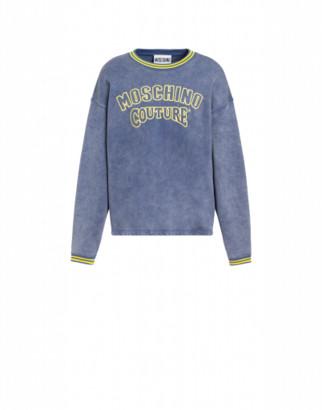 Moschino Couture Cotton Sweatshirt
