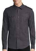 Ecko Unlimited Unltd. Viper Long-Sleeve Woven Shirt