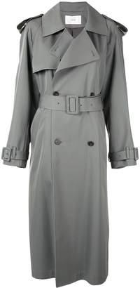 G.V.G.V. gabardine trench coat