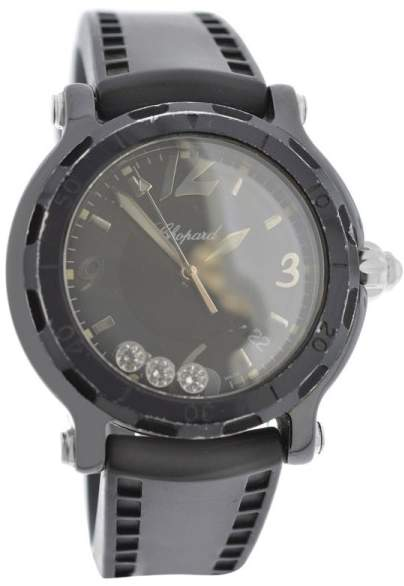 Chopard Happy Sport 28/8507 Ceramic / PVD over Stainless Steel 38mm Womens Watch