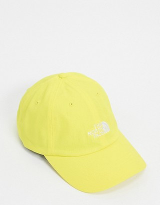 The North Face Norm cap in yellow