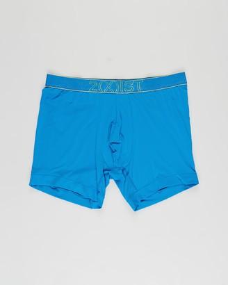 2xist Men's Blue Boxer Briefs - Speed Dri Mesh Boxer Briefs - Size S at The Iconic