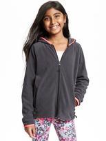 Old Navy Micro Fleece Full-Zip Hoodie for Girls