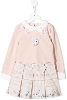 Lapin House Dress And Jersey Top Set