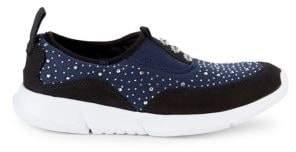 Carvela Comfort Chrissy Embellished Slip-On Sneakers