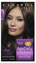 Clairol Age Defy Expert Collection, 3.5 Darkest Brown, Permanent Hair Color, 1 Kit
