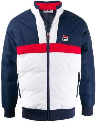 Fila logo padded jacket