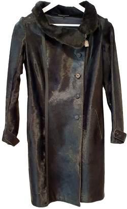 Jitrois Black Fur Coats
