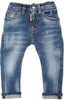 DSQUARED2 Stone Washed Stretch Denim
