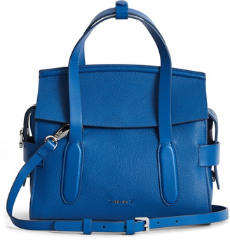 Reiss Sophie Leather Crossbody Bag