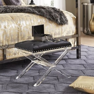 Willa Arlo Interiors Aaliyah Upholstered Bench
