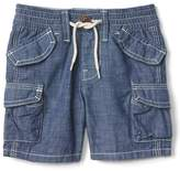 Gap Chambray beachcomber shorts