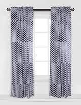 Bacati Aztec Kilim Navy Single Curtain Panel (SOLD INDIVIDUALLY)