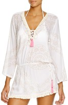 Cool Change Coolchange Raj Chloe Fringe Tunic Swim Cover Up