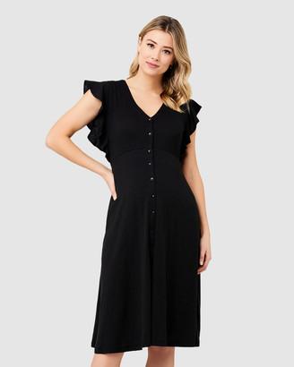 Ripe Maternity Riva Button Through Dress