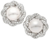 Nina Faux-Pearl Stud Earrings