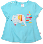 Zutano Aqua Elephant Swing Tee - Infant