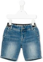 Armani Junior denim shorts - kids - Cotton/Spandex/Elastane - 6 yrs