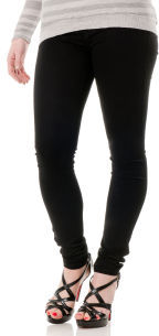A Pea in the Pod SOLD Design Lab Butter Secret Fit Belly® Twill 5 Pocket Skinny Leg Maternity Jeans