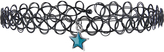 Accessorize Mood Star Tattoo Choker Necklace