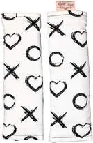 White X & O Harness Cover