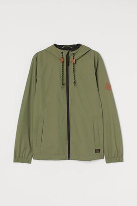 H&M Nylon Windbreaker - Green