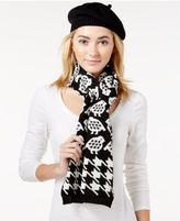 Charter Club Partridge Houndstooth 2-Pc. Scarf & Hat Gift Set, Only at Macy's
