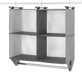 Whitmor 4-Section Hanging Closet Organizer