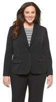 Merona Women's Plus Size Twill Blazer