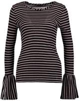 Sisley Long sleeved top black