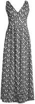Beatrice. B Printed V-Neck Maxi Dress