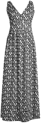 Beatrice. B Printed V-Neck Maxi Dress
