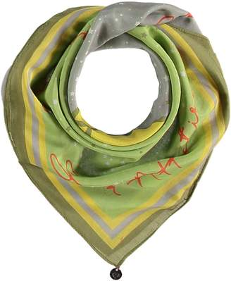 Fraas Gemini Cotton Silk Square Neckie Scarf