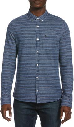 Original Penguin Knit Button-Up Shirt