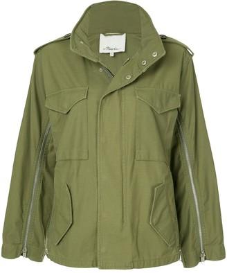 3.1 Phillip Lim Zippered Field Jacket