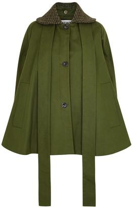 Loewe Army Green Cotton-twill Jacket