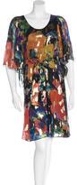 Matthew Williamson Printed Midi Dress