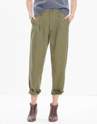 Madewell Chimala Chino Single-Pleated Trousers