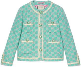 Gucci GG tweed jacket