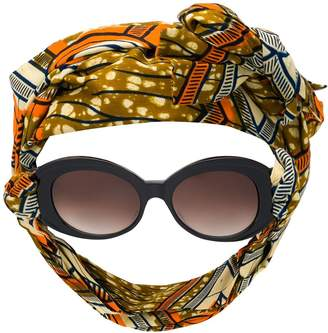 Alain Mikli headscarf sunglasses