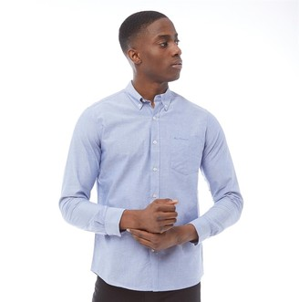 Ben Sherman Long Sleeve Oxford Shirt Indigo