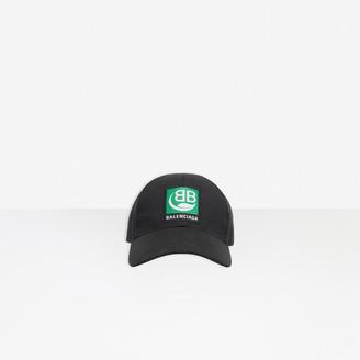 Balenciaga Green Logo Cap