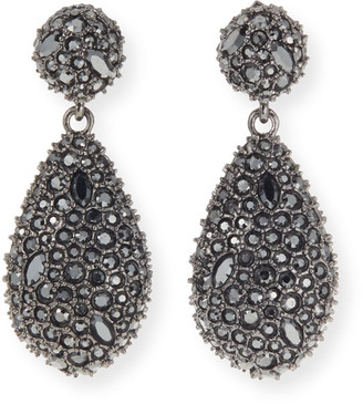 Alexis Bittar Crystal Encrusted Dangle Post Earrings