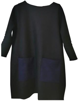 Harris Wharf London Black Wool Dress for Women