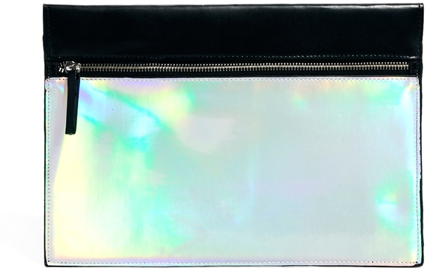 Asos Hologram Clutch Bag