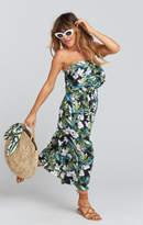 MUMU Pamela V ~ Maria Circle Straw Bag ~ Natural